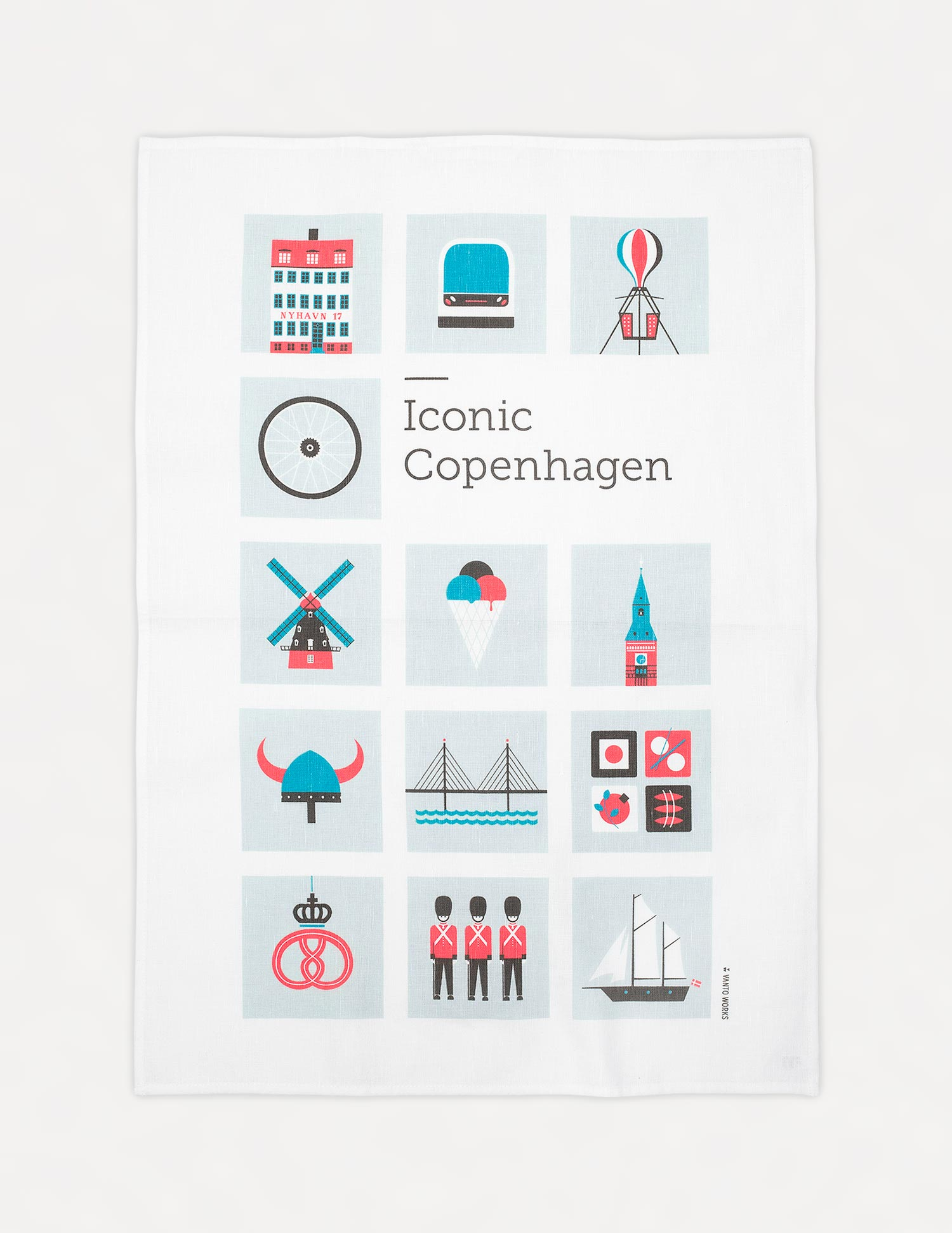 Iconic Copenhagen kitchen towel